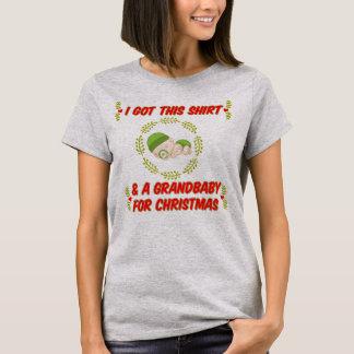 Ich erhielt diesen T - Shirt u. ein grandbaby für