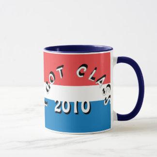 Ich erhielt Klasse (Scharlachrot, Weiß und Blau) Tasse
