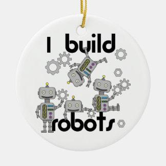 Ich errichte Roboter Keramik Ornament