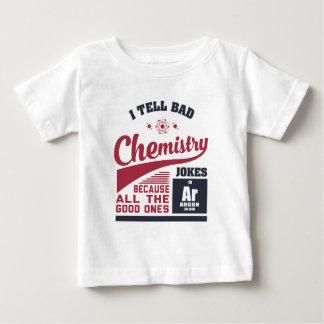 Ich erzähle schlechte Chemie-Witze Baby T-shirt