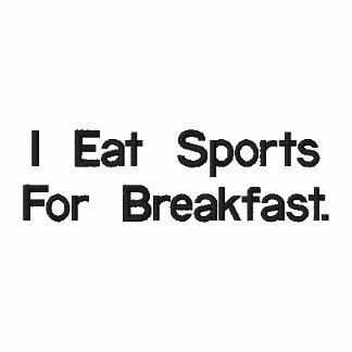Ich esse Sport zum Frühstück Polo