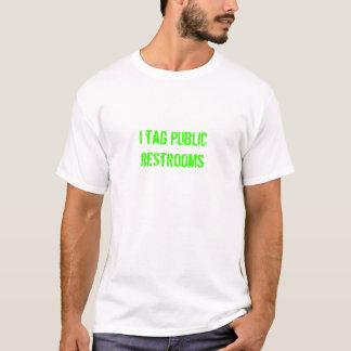 Ich etikettiere allgemeine Restrooms T-Shirt