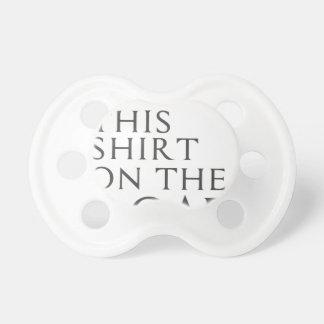 Ich fand dieses Shirt auf Straße Schnuller