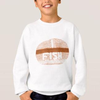 Ich fische 'Heckklappe Talk Sweatshirt