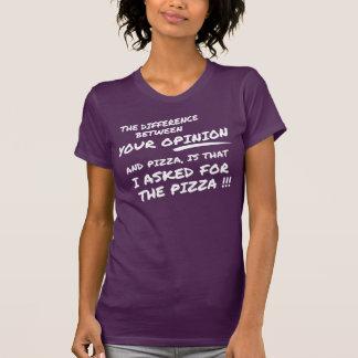 Ich fragte nicht für Ihre Meinung, ich fragte für T-Shirt