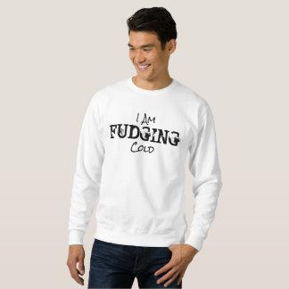 Ich FRISIERE Kälte - Strickjacke Sweatshirt