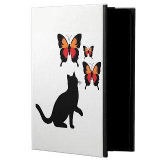 Ich fülle Luft-Kasten-schöne schwarze Katze und