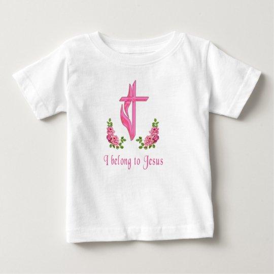 Ich gehöre Jesus-Geschenken Baby T-shirt
