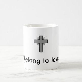 Ich gehöre Jesus-Kaffee-Tasse Kaffeetasse