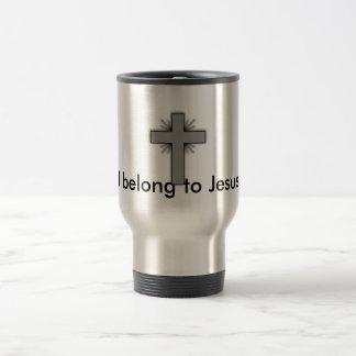 Ich gehöre Jesus-Reise-Tasse Reisebecher