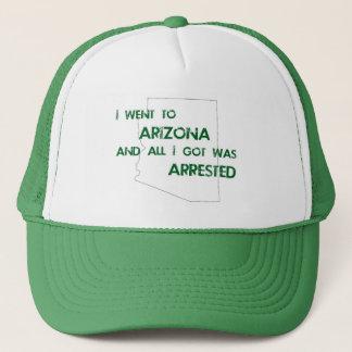 Ich ging nach Arizona…. Truckerkappe