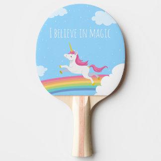 Ich glaube an den magischen personalisierten tischtennis schläger