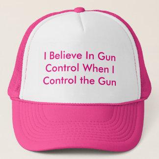 Ich glaube an Gewehr-Kontrolle wenn i-Kontrolle Truckerkappe