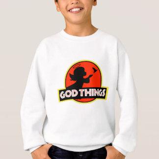 Ich glaube an Gott-Sachen - Engelchen Sweatshirt