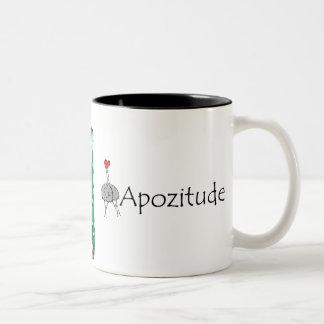Ich glaube an MICH Kaffee-Tasse Zweifarbige Tasse