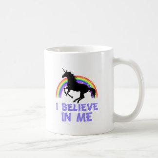 Ich glaube an mich kaffeetasse