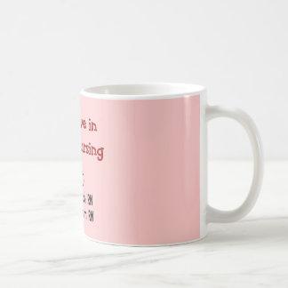 Ich glaube an TEAM Krankenpflege--Unglaublich Tasse