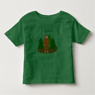 Ich glaube - Bigfoot Kleinkind T-shirt