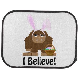 Ich glaube! Ostern Bigfoot Automatte