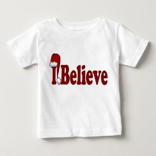 Ich glaube Weihnachtsmann-Hut Shirt