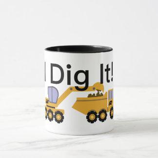 I Dig It Design - Black 11 oz Combo Mug