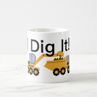 I Dig It Design - White 11 oz Classic Mug