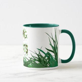 Ich grabe Pflanzen-Gärtner-Slogan-Kaffee-Tasse Tasse