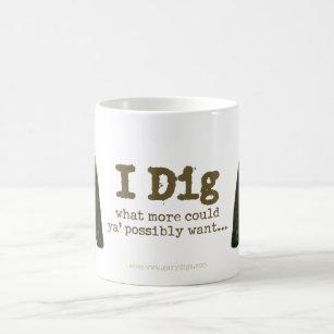 Ich grabe Tasse