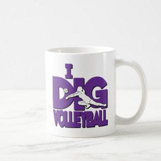 Ich grabe VB, lila Kaffeetasse