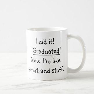 Ich graduierte intelligenter Absolvent-lustiges Tasse