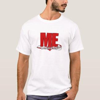 ICH GROSSES ROTES LOGO-MASCHINENBAUINGENIEUR T-Shirt
