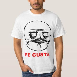 Ich Gusta Raserei-Gesicht Meme T-Shirt