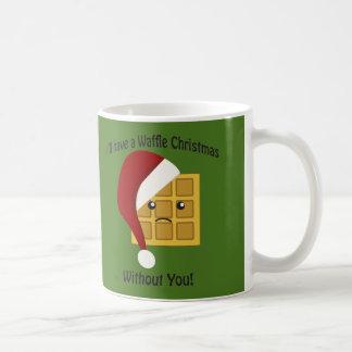 Ich habe ein Waffel-Weihnachten ohne Sie Kaffeetasse