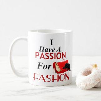 Ich habe eine Leidenschaft für Kaffeetasse