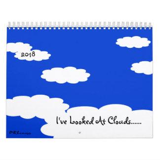 Ich habe Kalender der Wolken-2018 betrachtet