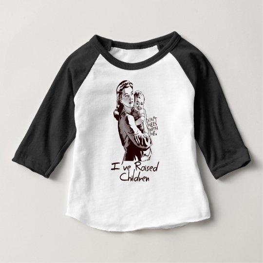 Ich habe Kinder - die lustige MAMMA angehoben Baby T-shirt