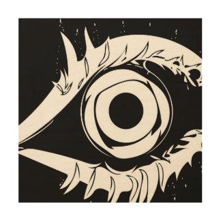 Ich habe mein Auge auf Ihnen #1 Holzdruck