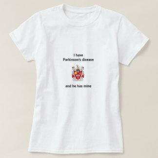 Ich habe Parkinson-Krankheit und er hat meine T-Shirt