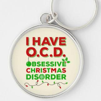 Ich habe Störung O.C.D. Obsessive Christmas Schlüsselanhänger