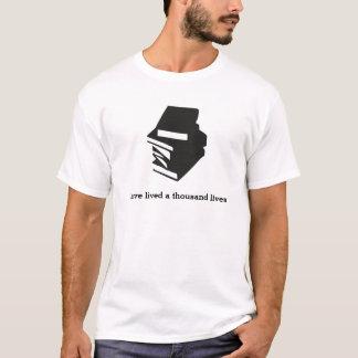 Ich habe tausend Leben - Lesung gelebt T-Shirt