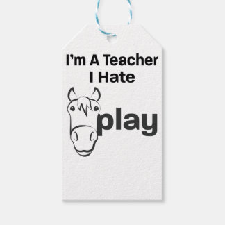 Ich hasse Horseplay Geschenkanhänger