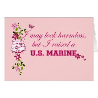 Ich hob einen Marinesoldaten an Karte