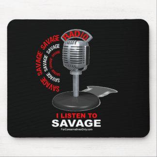 Ich höre auf Savage Mauspads