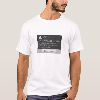 Ich hörender Android T-Shirt