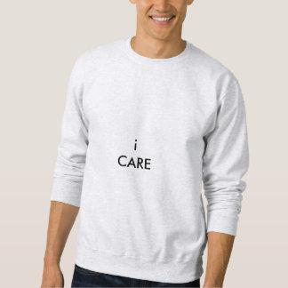 ich interessiere mich Sweatshirt