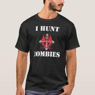 ICH JAGE ZOMBIES T - Shirt (für dunkle Shirts)