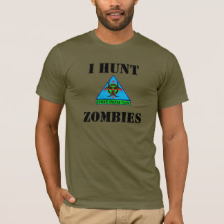 ICH JAGE ZOMBIES T - Shirt (Ver 4)