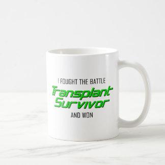 Ich kämpfte den Kampf und gewann.  Kaffeetasse