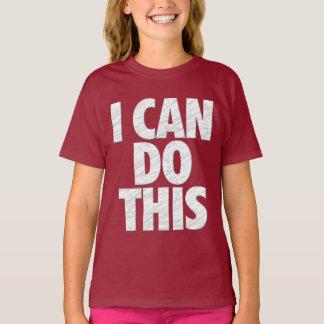 Ich kann dies tun (Dunkelheit) T-Shirt