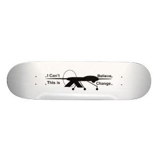 Ich kann nicht glauben, dass dieses Brett der Skateboardbretter